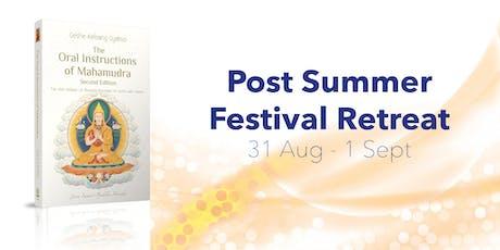 Post Summer Festival Retreat tickets
