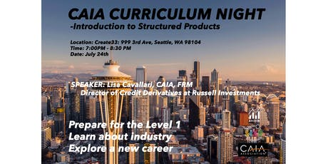 CAIA: Introduction to Alternative Investments - Structured Products with Lisa Cavallari tickets