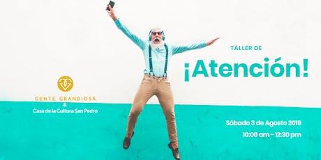 ATENCIÓN para el Arte!! tickets