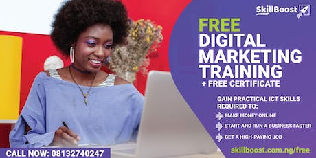 Free Digital Marketing Training (Get Certified for FREE) tickets