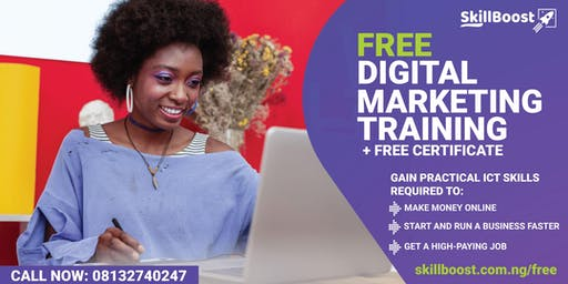 Free Digital Marketing Training (Get Certified for FREE)