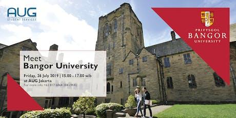 Meet Bangor University! tickets