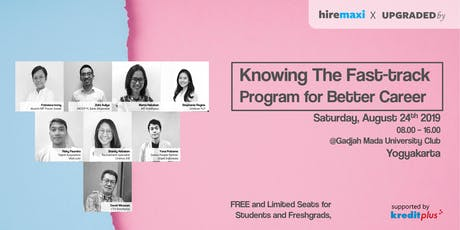[FREE] Career Talk: Knowing Fast-track Program for Better Career tickets