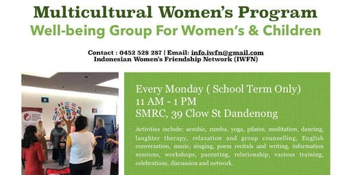 Wellbeing Group For Multicultural Women
