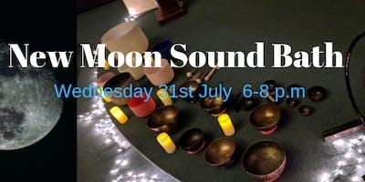 Black Moon Super Moon Sound Bath