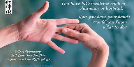 Self Care thru Jin Shin - a Japanese type Reflexology tickets