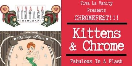 Kittens & Chrome PinUp & Rockabilly Workshop @ Chromefest 2019 tickets