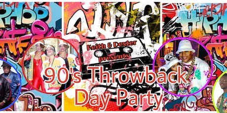 Keith & Dexter 90's Throwback Day Party tickets
