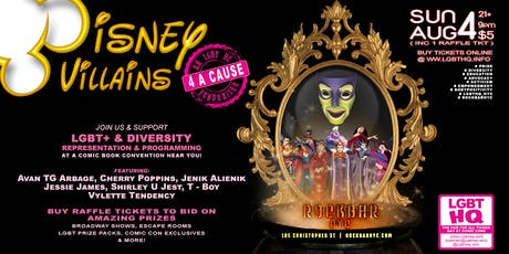 Disney Villains For A Cause, an LGBT HQ fundraiser tickets