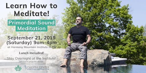 Lunch + Learn: Primordial Sound Meditation at Harmony Mountain Institute