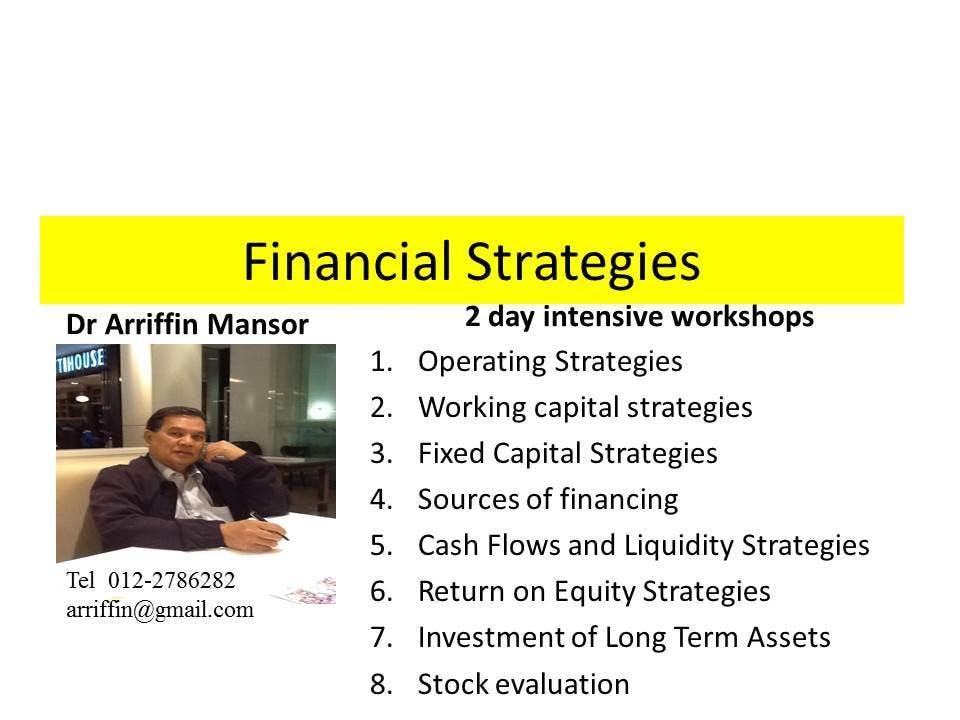 STRATEGIC FINANCE : A case Analysis Approach*