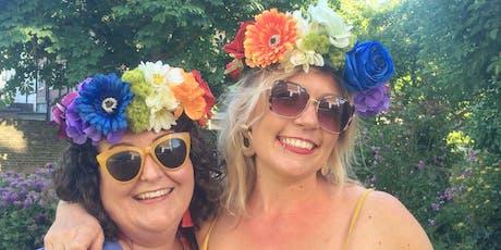 Pride Flower Crown Workshop tickets