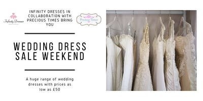 Wedding Dress and Accessories Sale Day