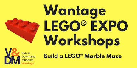 Build a LEGO® Marble Maze Workshop tickets