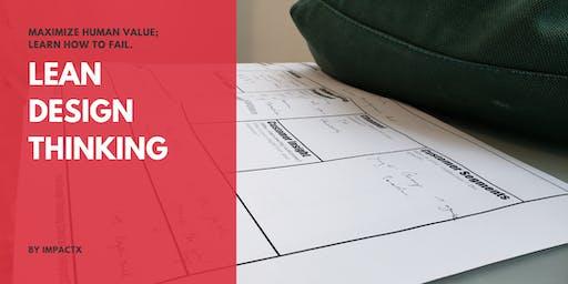 [Cantonese] LeanDesignThinking Workshop-Experience new idea generation tool