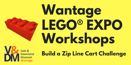 Build a Zip Line Cart - Challenge Workshop tickets