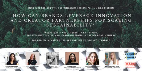 Innovate for Growth Sustainability Experts Panel + Q&A  tickets