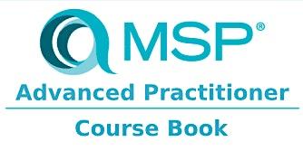 Managing Successful Programmes – MSP Advanced Practitioner 2 Days Training in San Jose, CA