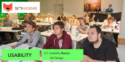Usability Basics (U1), UX Design, User Experience Optimization (SEO)