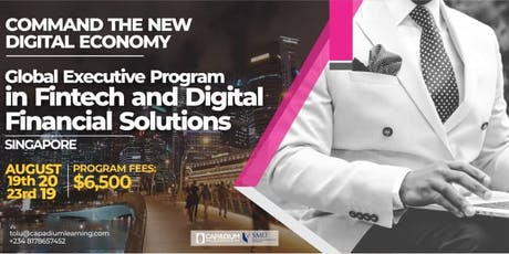 Global Executive Masters Program in FINTECH and Digital Financial Solutions tickets