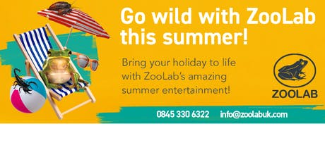Prestbury Library - Summer Reading Challenge - Zoolab Animal Experience tickets