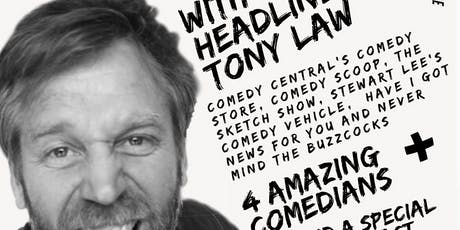 SAMM's Stand up Comedy with Headline Tony Law tickets
