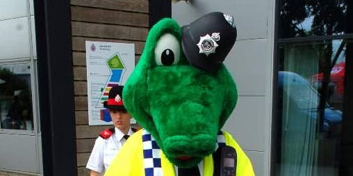 Lydney Library-Holiday fun with Colin The Croc