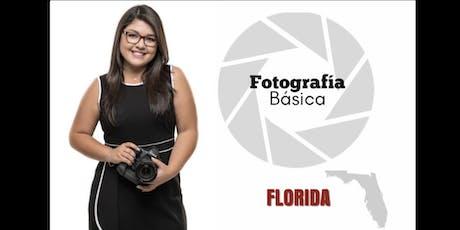 Clases De Fotografía Básica en FLORIDA tickets