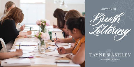 Advanced Calligraphy | Brush Lettering tickets