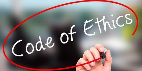 Code of Ethics - Professional Standards  Business Conduct  3 Hours CE FREE - Senoia tickets