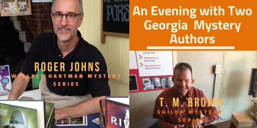 An Evening with Two Georgia Mystery Authors