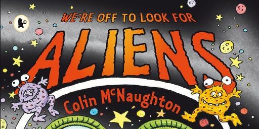'We're Off To Look For Aliens' Story Walk