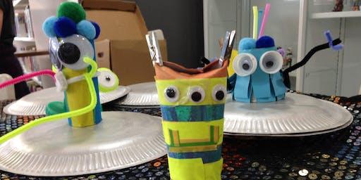 Edinburgh Scrap Store Workshop: Wacky Aliens for 5-12 year olds