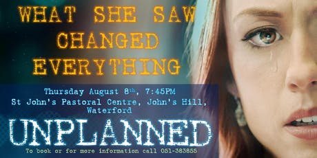 """Unplanned "" Gianna Care Fundraiser tickets"