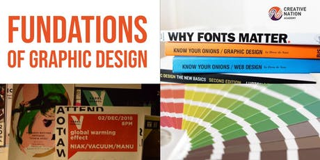 Fundations of Graphic Design Workshop (2 days) tickets
