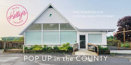 Kelly's Bake Shoppe is coming to The County POP-UP! tickets