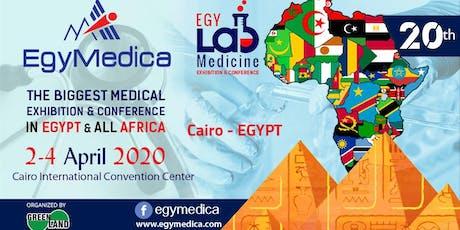 EGYMEDICA &EGYLAB Medicine tickets