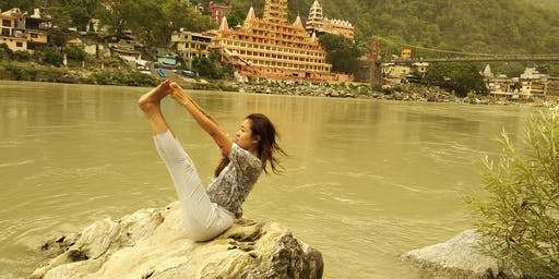 Yoga for Beginners Course in Rishikesh