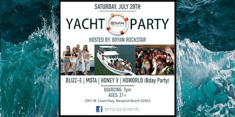 EMX & Bryan Rockstar Yacht Party (Newport Beach) tickets