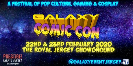 Galaxy Comic Con - Jersey tickets