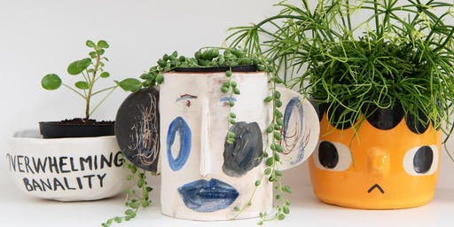 Grown & Thrown - Mix & Match, Ceramics with Plants