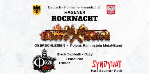 Deutsch- Polnische Rocknacht mit OBERSCHLESIEN - OZZYFIED - SYNDYKAT