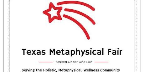 Texas Metaphysical Fair in Round Rock, Texas, October 13, 2019 tickets