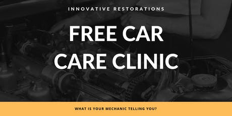 Car Care Clinic tickets