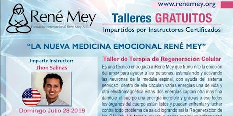 Julio 28 Naples Talleres Tecnicas Medicina Emocional Rene Mey tickets