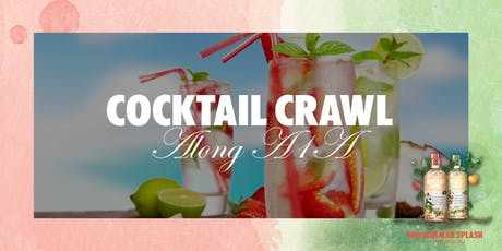 Midsummer Cocktail Crawl - Take 2 tickets