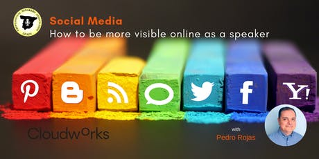 Social Media; how to be more visible online as a speaker entradas