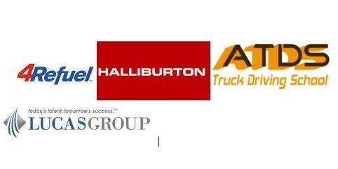 JOBS Lucas Group, 4Refuel, Halliburtion, ATDS Trucking