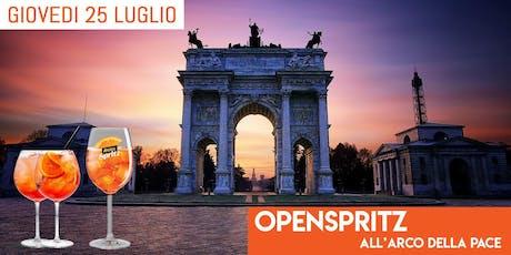 Mit Cafè Milano - Giovedì 25 Luglio 2019 - AfterWork Arco Della Pace - Aperitivo Open Spritz con Dj Set - Lista Miami - Info e Tavoli al 338-7338905 biglietti