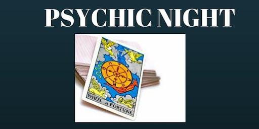 03-10-19 Folkestone Rugby Club - Psychic Night